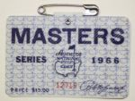 1966 Masters Badge - Jack Nicklaus Third Masters Win, Fifth Major