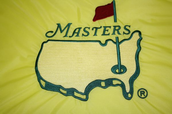 1997 Masters Embroidered Pin Flag