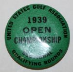 1939 USGA Open Qualifying Rounds Contestants Pin