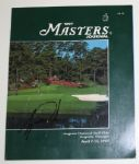 Tiger Woods Autographed 1997 Masters Program