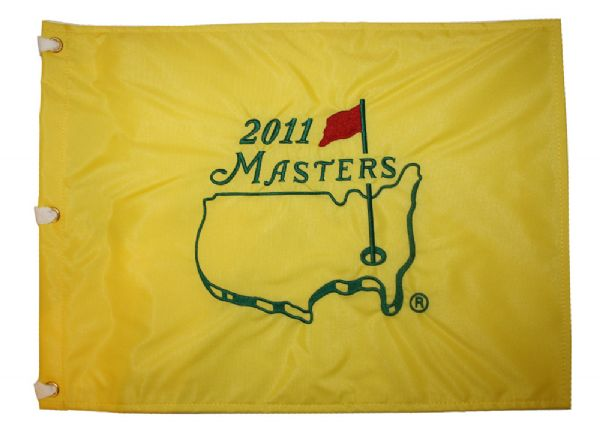 Pristine Box of (50) 2011 Masters flags