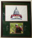 Rory McIlroy Autographed 2011 US Open Display