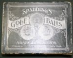 DOZEN of Spalding Mint Bramble Gutty Balls in ORIGINAL BOX!