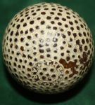 """The Arrow"" Gutta Percha Golfball"