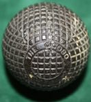 """Ocobo"" Gutta Percha Golf Ball"