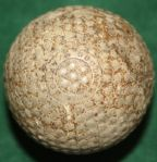 "1905 ""The Pneumatic"" Goodyear Bramble with Rubber Core Golf Ball"