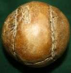 Pre-1850 Average Size Feathery Golf Ball RARE BALL