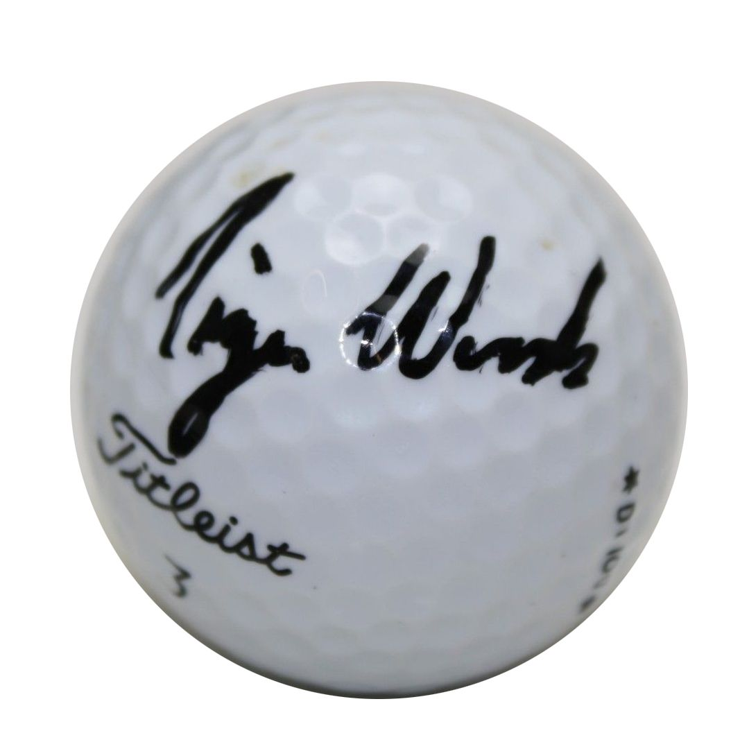 9a0adf3d5c5 Tiger Woods Autographed Golf Ball - Image Of Tiger Stateimage.Co