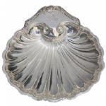 1948 Houston C.C. Invitational Medalist-Ornate Silver Oyster Candy Dish - Frank Stranahan
