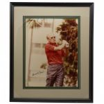 Gerald R. Ford Signed 10x12 Golfing Photo-38th President-JSA COA