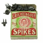 Mint Full Box of 1920-1930s Vintage Cricket and Golf Spikes