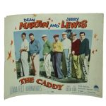 Original The Caddy Movie Lobby Card Signed by Hogan, Nelson, Snead, and Boros JSA COA