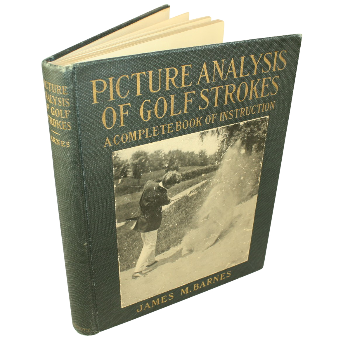 Lot Detail 1919 First Edition Picture Analysis Of Golf