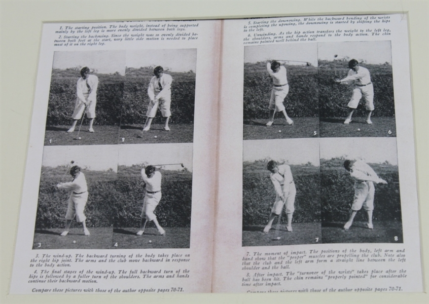 Lot Detail Bobby Jones Swing Sequence Display