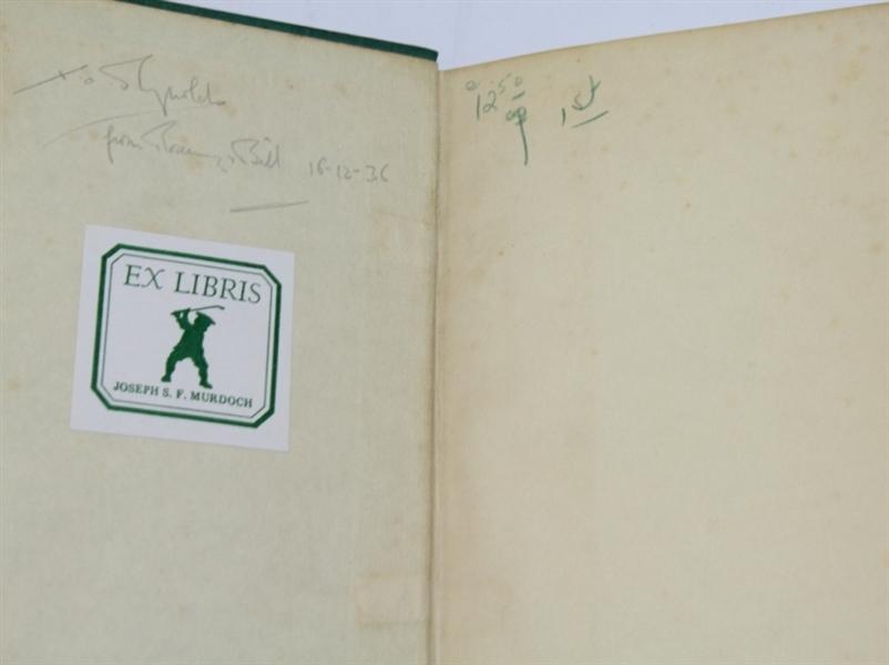 Lot Detail - 1936 'Rubs of the Green' Book by Bernard Darwin