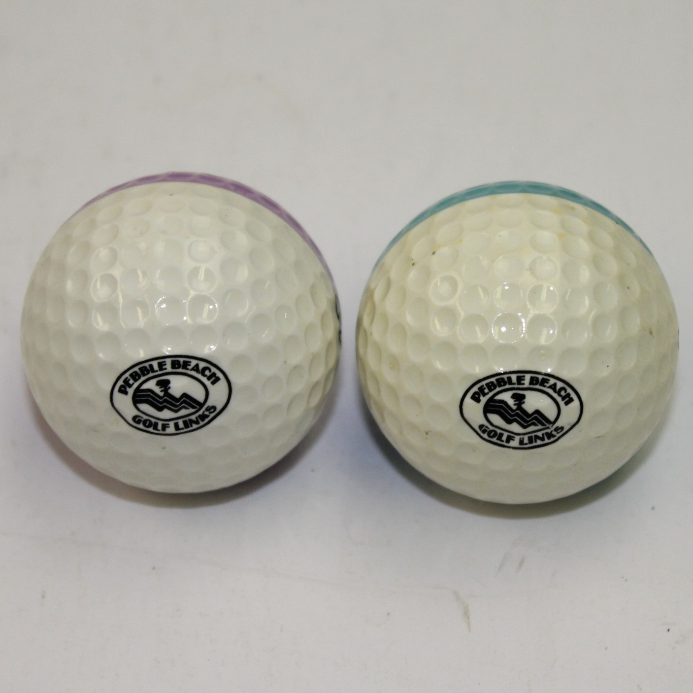 Lot Of Two Ping Karsten Eyes Blue Purple Half Color Golf Pebble Beach