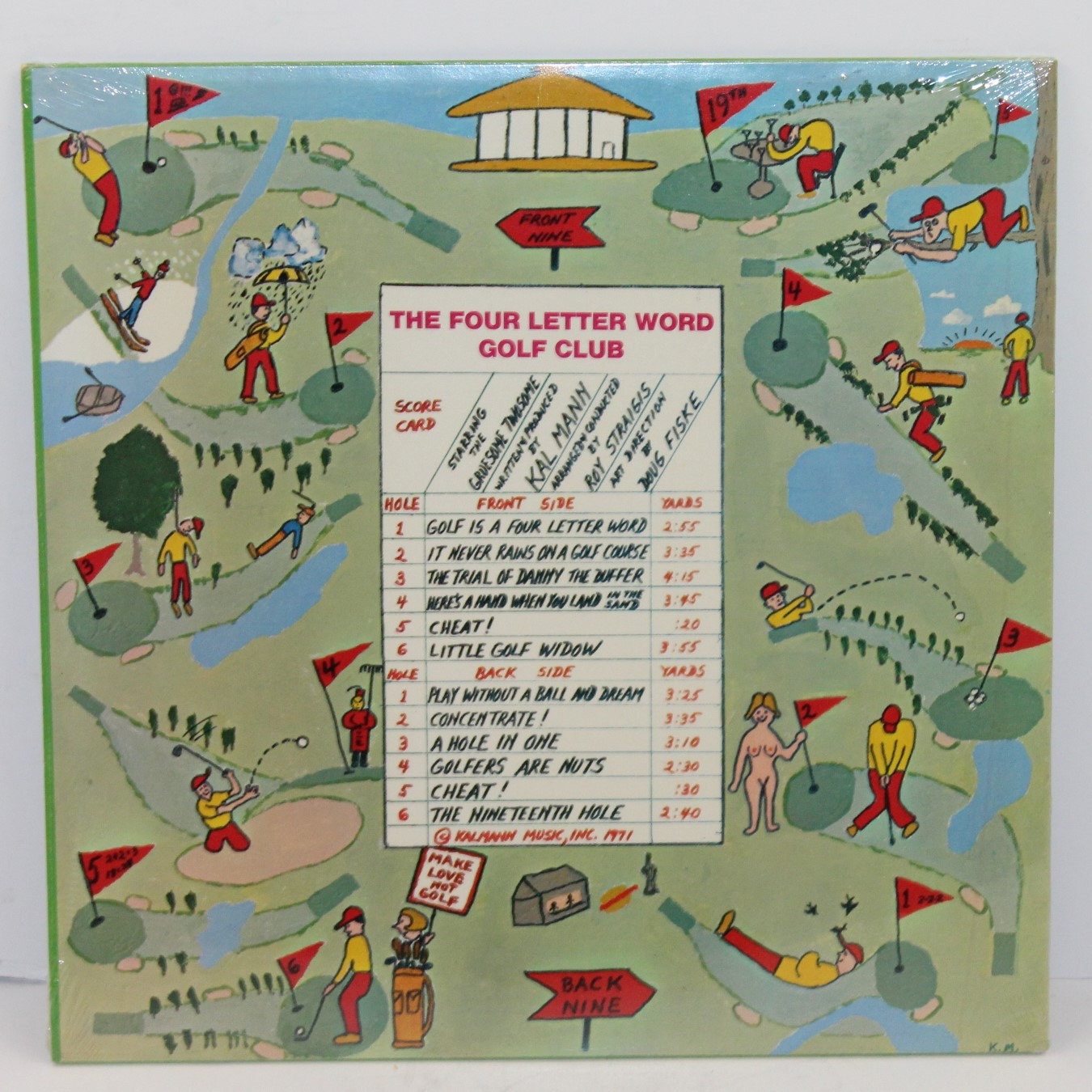 Lot detail vintage unopened record golf is a four letter word vintage unopened record golf is a four letter word aljukfo Image collections