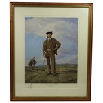 Young Tom Morris Painting- Limited Number 173/350- Framed