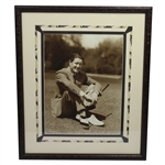 Byron Nelson Signed & Inscribed Photo to Clifford Roberts - Framed - JSA ALOA