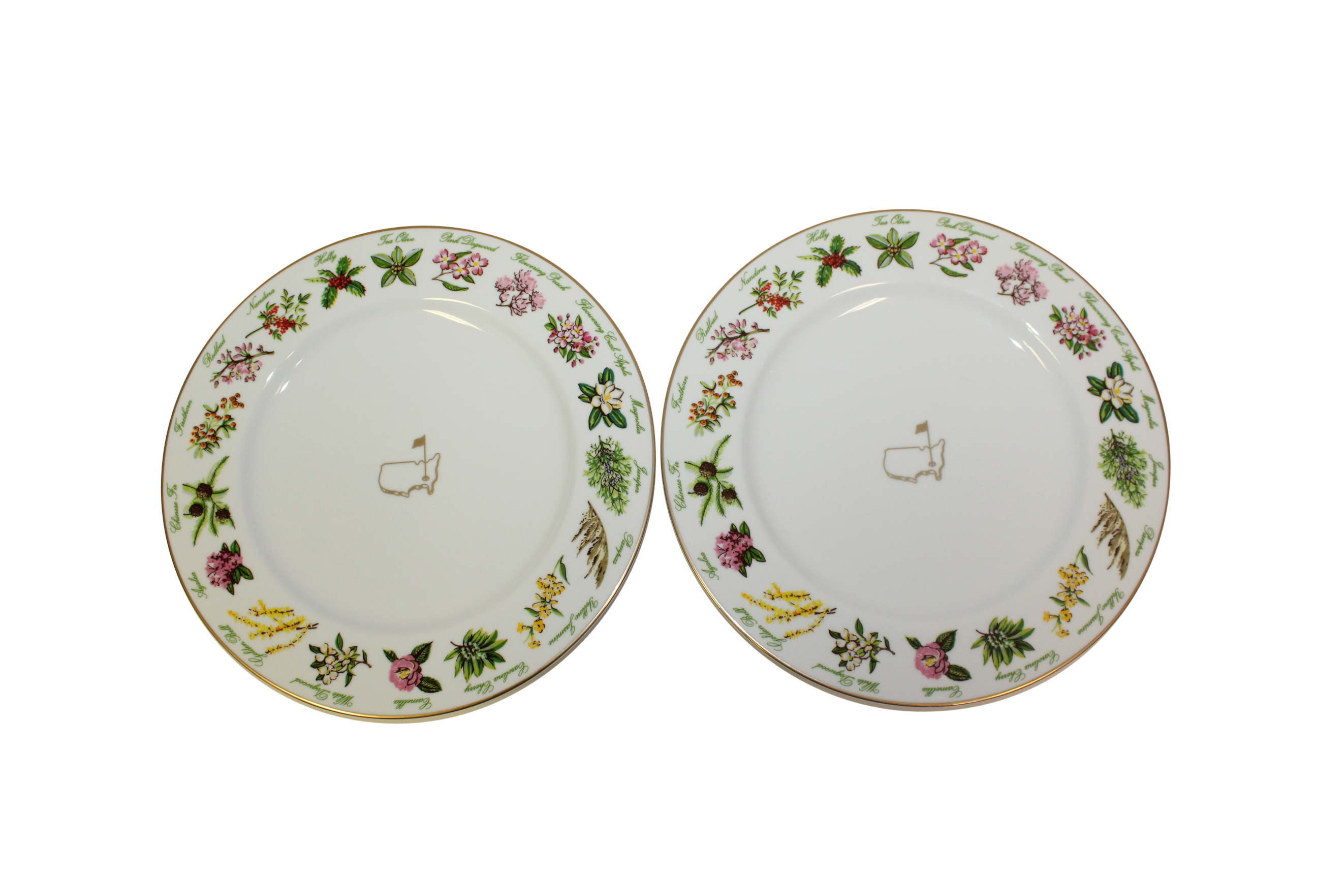 Plates in Original Box 2016 Masters Tournament Member Gift - Two Tiffany u0026 Co.  sc 1 st  The Golf Auction & Lot Detail - 2016 Masters Tournament Member Gift - Two Tiffany u0026 Co ...