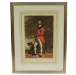 1923 John Taylor Print Engraved by W.A. Cox - Framed