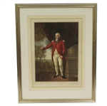 1923 Henry Callendar Print Engraved by W.A. Cox - Framed