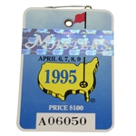 1995 Masters Tournament Series Badge #A06050- Ben Crenshaw Win