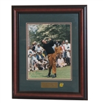 Billy Casper Signed Masters Shot Display - Framed JSA ALOA