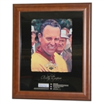 Signed Billy Casper Upper Deck The Champions Lounge Display - Framed JSA ALOA