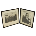 Two 1940s Formal Photos - Presentation Personalized - McMahon Collection