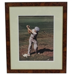 Ben Hogan Signed Color 11x14 Photo - Framed JSA ALOA - Barrett Collection