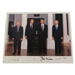 Official White House Photo Belonging to President Ford - Signed by 4 Presidents JSA ALOA - Barrett Collection