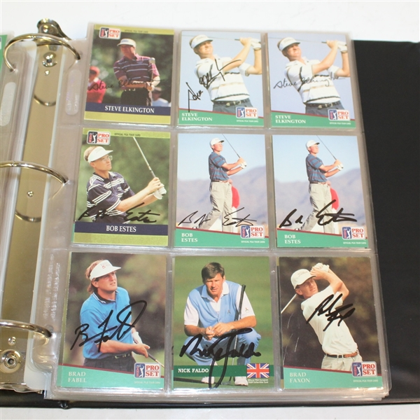 Assorted Signed Golf Cards - Almost Four Hundred Cards! - O'Meara, Daly, Couples, Norman, Faldo and More JSA ALOA
