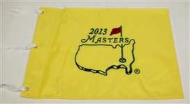 Three 2013 Embroidered Masters Flags