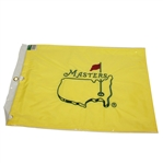 Undated Embroidered Masters Flag in Original Sleeve from ANGC