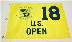 2000 US Open Flag and 2004 US Open Merch Shop Flag - Tiger and Goosen Wins