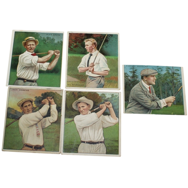 Mecca Cigarettes Tobacco Cards - Smith, Low, Douglas, Nicholls, and Hobens