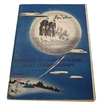 Byron Nelson Signed 1946 Chicago Victory National Championship Program JSA ALOA