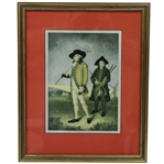 Blackheath Golfers Framed Print with Facsimile Signature - Robert Sommers Collection