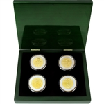 Arnold Palmer Commemorative Masters Championship Silver & Gold Coins