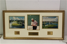 Ray Floyd Signed Photo - 1998 Doral Pepsi Pro-Am Display - Framed JSA ALOA