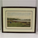 "Douglas Adams ""The Putting Green"" Art Print - Framed"