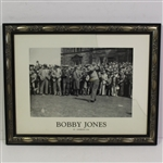 Bobby Jones 1936 St. Andrews Tee-Off Print - Framed