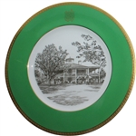 Augusta National Clubhouse Wedgwood Bone China Ltd Ed Plate #112 - Gifted To Bobby Jones Son, Robert Tyre III