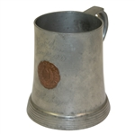 1900 Hull Golf Club Pewter Best Gross Tankard - June 18 - Won by W.H. Thayer - Roth Collection