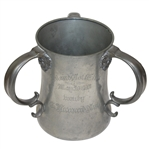 Island Golf Club Trophy Cup Won By Howard Nash May 30th, 1901 - Roth Collection