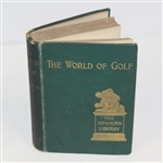 1898 The World of Golf Book by Garden Smith - The Isthmian Library