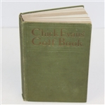 1921 Chick Evans Golf Book 1st Edition with 65 Illustrations