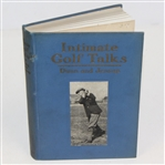 1920 Intimate Golf Talks Book by Dunn & Jessup