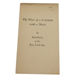 1926 The Way of a Caddie with a Man by Bob Davis